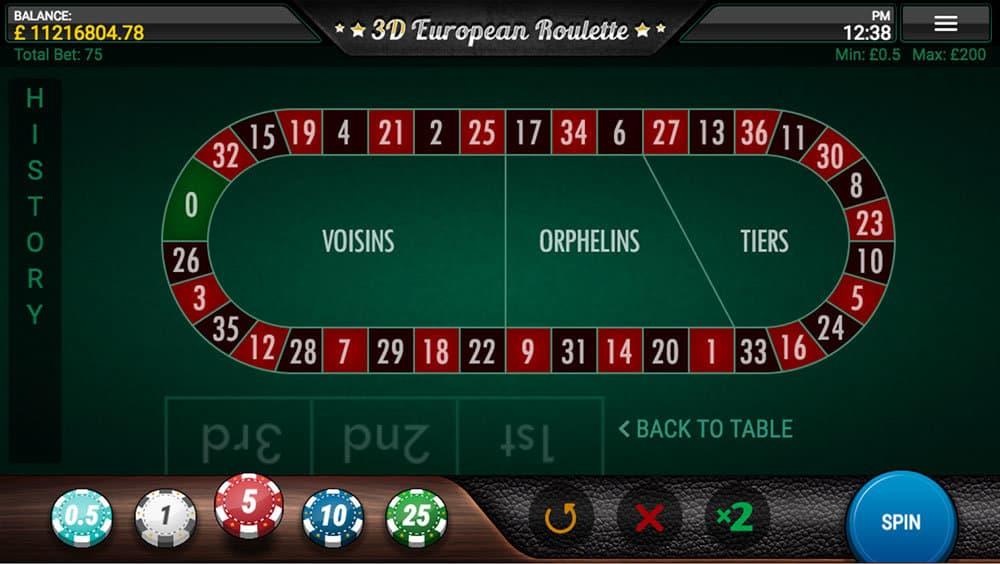 Roulette rtp