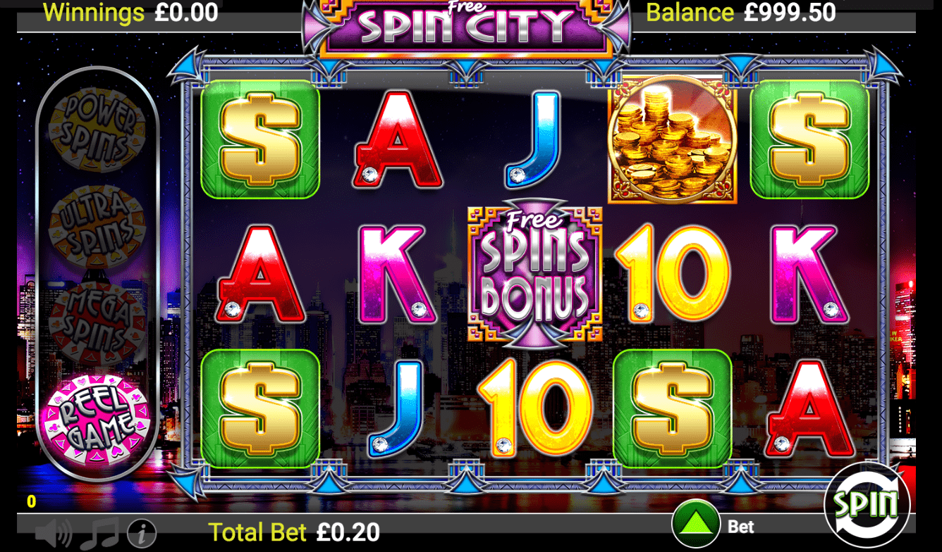 слоты казино spin city