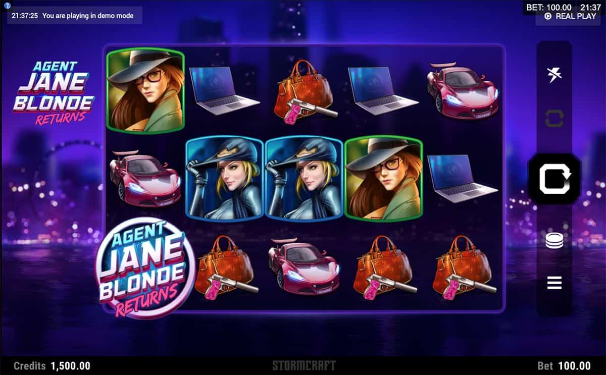 Spiele Agent Jane Blonde Returns - Video Slots Online