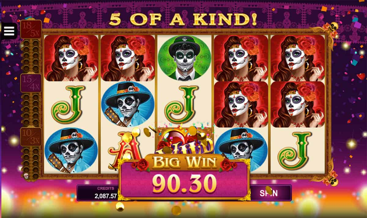 Beautiful Bones Slot Machine