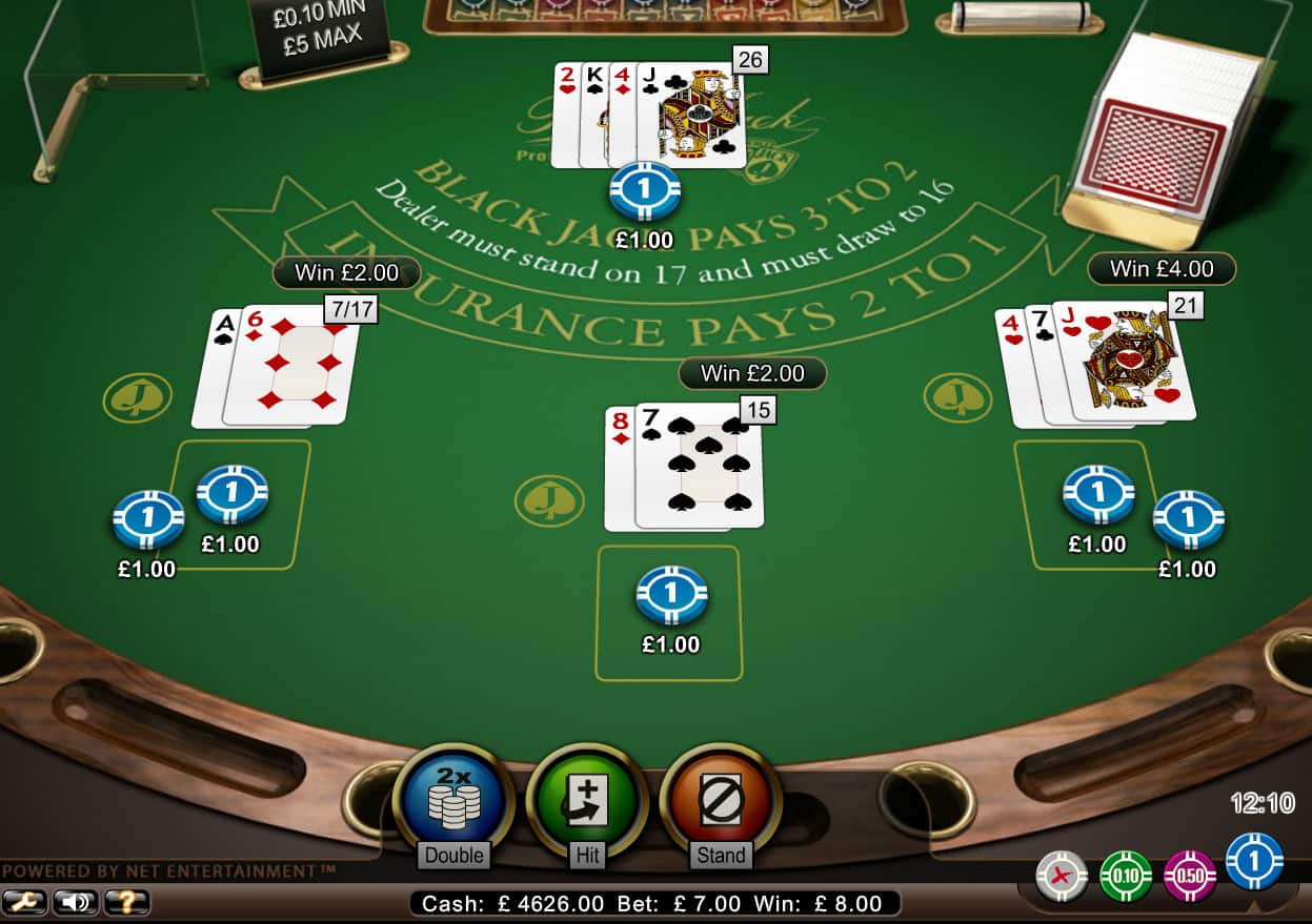 CASINO BLACKJACK TABLE LIMITS